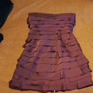 Purple bcbg  maxazria dress